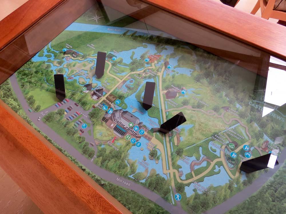 Interactive orientation map