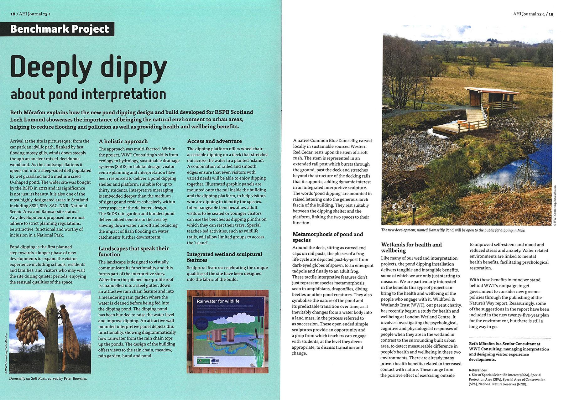 RSPB Pond Dipping Platform